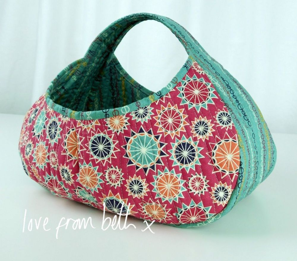 Love From Beth - Gondola Basket Sewing Pattern